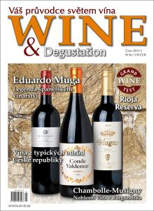 obálka časopisu Wine & Degustation