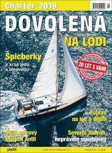obálka časopisu Dovolená na lodi - Charter