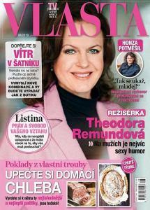 obálka časopisu Vlasta