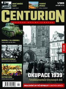 obálka časopisu Centurion