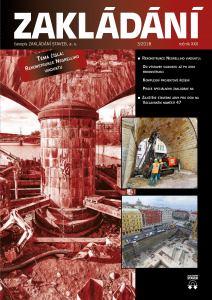 obálka časopisu Zakládání staveb