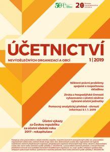 obálka časopisu Účetnictví nevýdělečných organizací a obcí