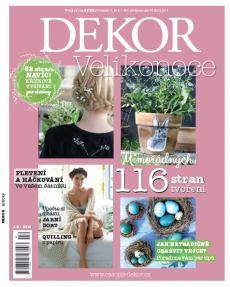 obálka časopisu Dekor
