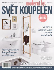 obálka časopisu Svět koupelen