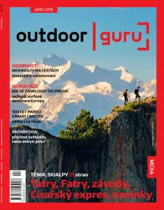 obálka časopisu OUTDOOR guru