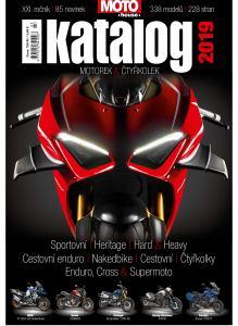 obálka časopisu Motohouse katalog motorek a čtyřkolek
