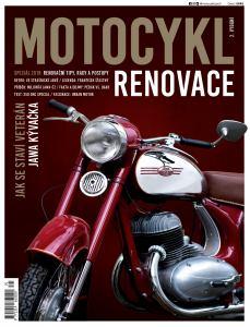 obálka časopisu Motocykl Speciál