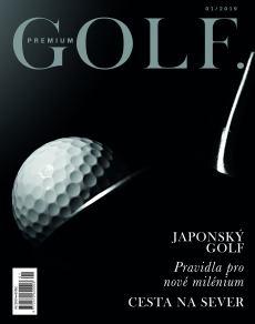 obálka časopisu Premium Golf