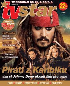 obálka časopisu TV Star