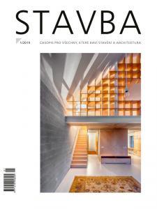obálka časopisu Stavba