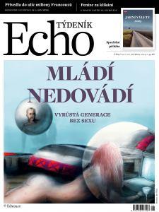 obálka časopisu Týdeník Echo