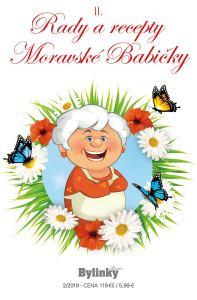 obálka časopisu Rady a recepty moravské babičky