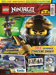 obálka časopisu LEGO® NINJAGO®