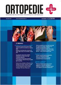 obálka časopisu Ortopedie