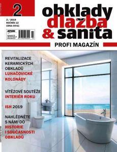 obálka časopisu Obklady, dlažba & sanita