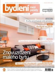 obálka časopisu Bydlení mezi panely