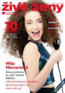 obálka časopisu Živé ženy