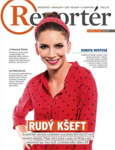 obálka časopisu Reportér