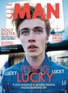 obálka časopisu Elle Man