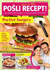 obálka časopisu Pošli recept speciál + Pošli recept