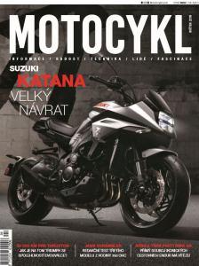 obálka časopisu Motocykl