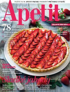 obálka časopisu Apetit