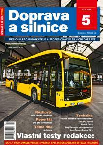 obálka časopisu Doprava a silnice