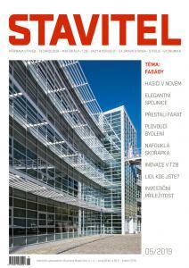 obálka časopisu Stavitel