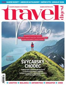 obálka časopisu Travel Digest