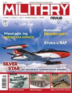 obálka časopisu NV Military revue