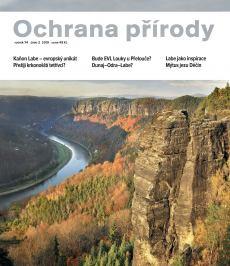 obálka časopisu Ochrana přírody