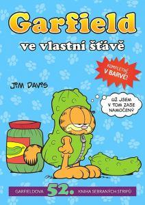 obálka časopisu Garfield