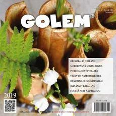 obálka časopisu Golem