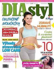 obálka časopisu DIAstyl
