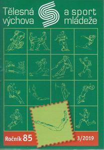 obálka časopisu Tělesná výchova a sport mládeže