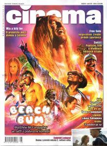 obálka časopisu Cinema