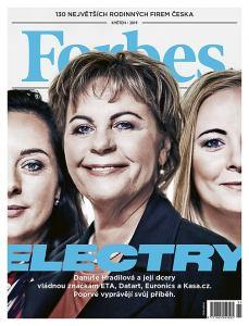 obálka časopisu Forbes