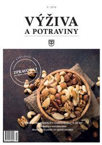 obálka časopisu Výživa a potraviny