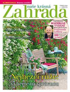 obálka časopisu Naše krásná zahrada