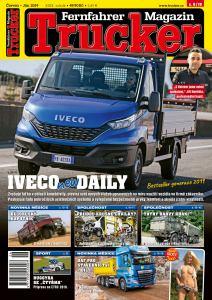obálka časopisu Trucker
