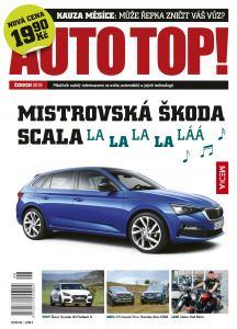obálka časopisu AUTO TOP!