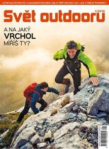 obálka časopisu Svět outdooru