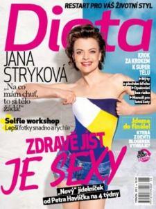 obálka časopisu Dieta