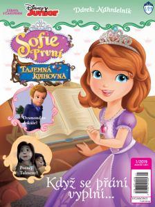 obálka časopisu Sofie První