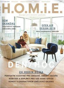 obálka časopisu H.O.M.i.E.