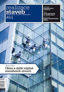 obálka časopisu Realizace staveb