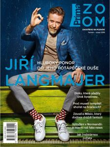obálka časopisu Prima Zoom