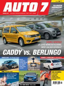 obálka časopisu Auto7