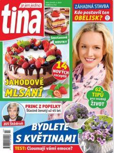 obálka časopisu Tina