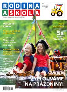 obálka časopisu Rodina a Škola
